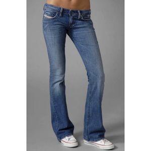 Diesel Lowky Low Rise Boot cut Denim Jeans 30/31